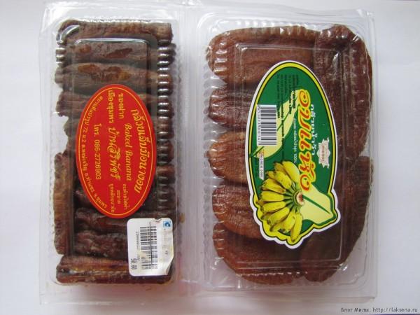 Десерты тайской кухни жарене бананы