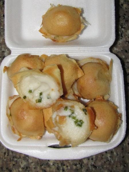 Десерты тайской кухни кханом крок кокосовый мини пудинг