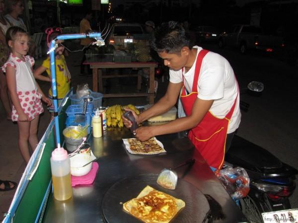 Десерты тайской кухни (фото) банановые блинчики роти