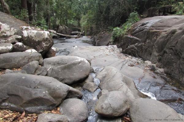 Экскурсия Затерянный мир Паттайя водопад кхао ча мао