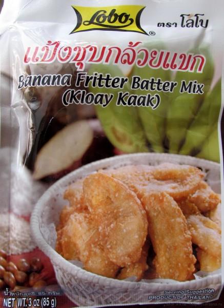 кляр для жареных бананов десерты тайской кухни
