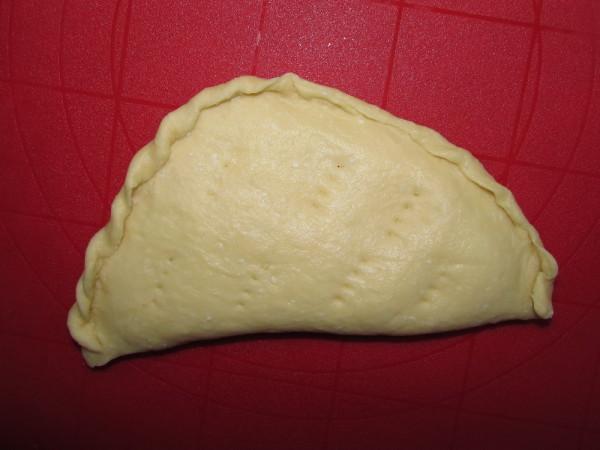 Хачапури с сыром из творожного теста