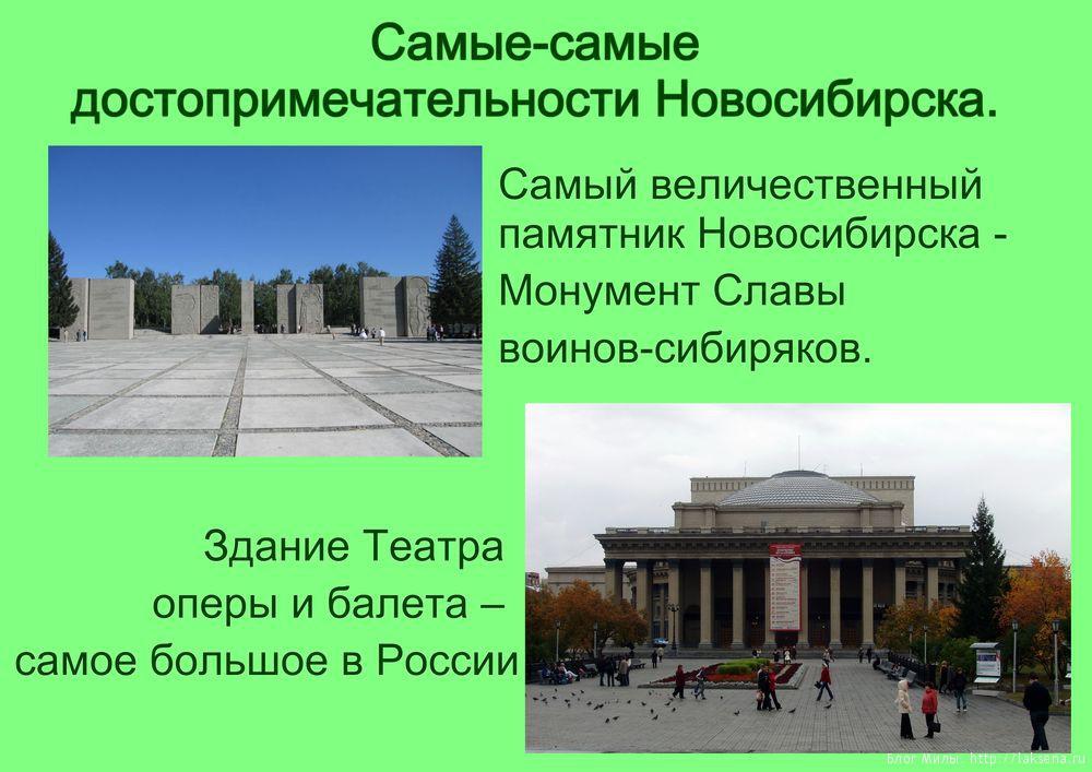 Мой город новосибирск доклад 8768