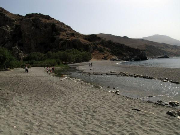 пальмовый пляж Превели