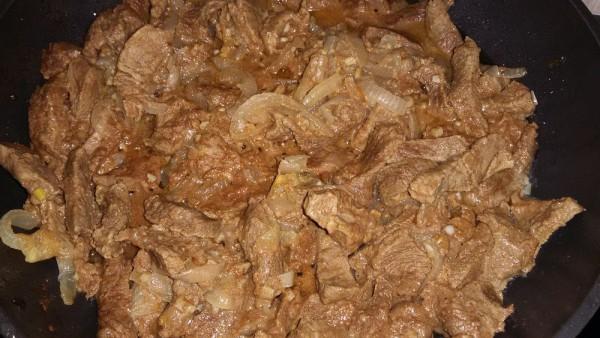 Мягкая говядина в кефире