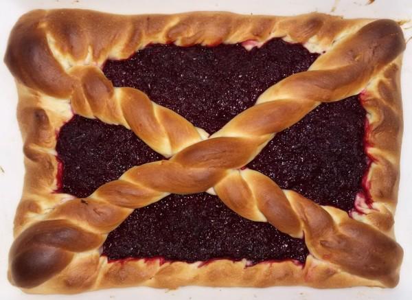 Пирог со свеклой и клюквой рецепт