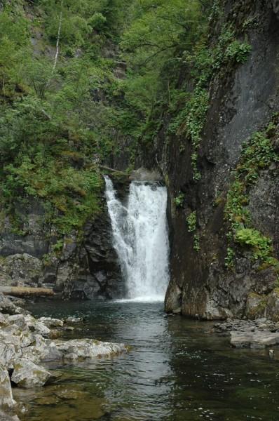 водопад киште телецкое озеро