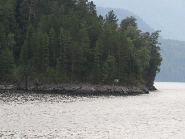 остров у мыса Ажи телецкое озеро