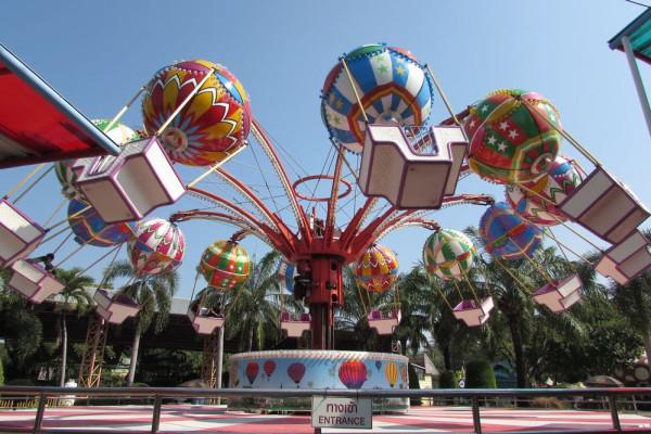 Сиам парк в Бангкоке воздушные шары