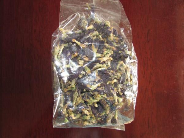 тайский синий чай клитория мотыльковый горошек