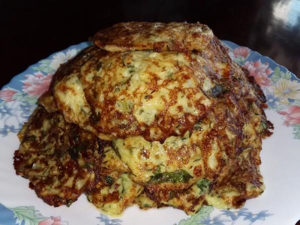 Кабачковые оладьи с сыром Нежные