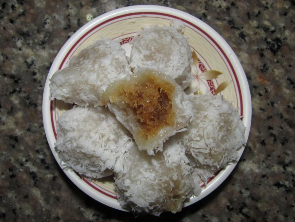 Khanom Thom кханом том тайские десерты