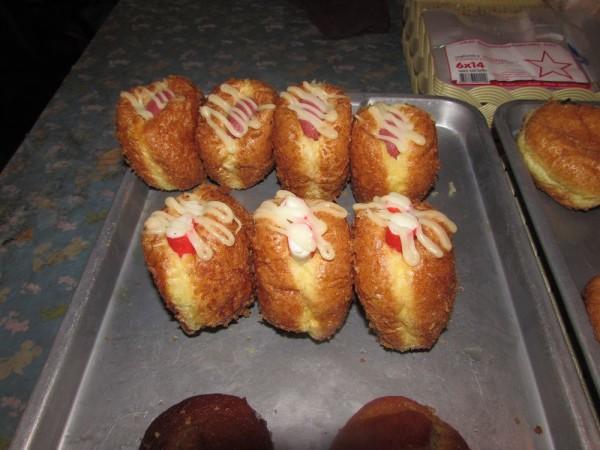 тайские булочки с кремом десерты тайской кухни