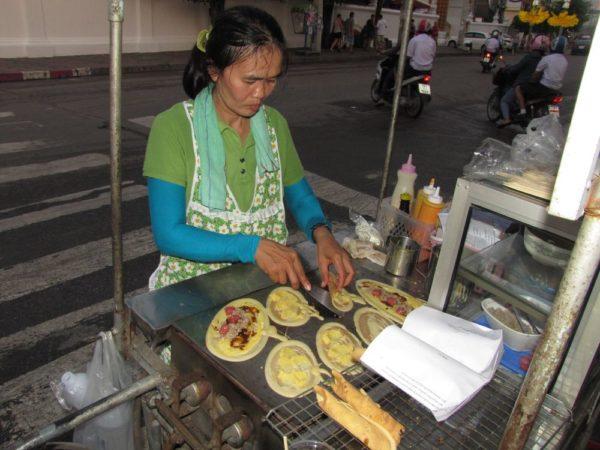 хрустящие блинчики (Small crepe (Tokyo)) тайские десерты