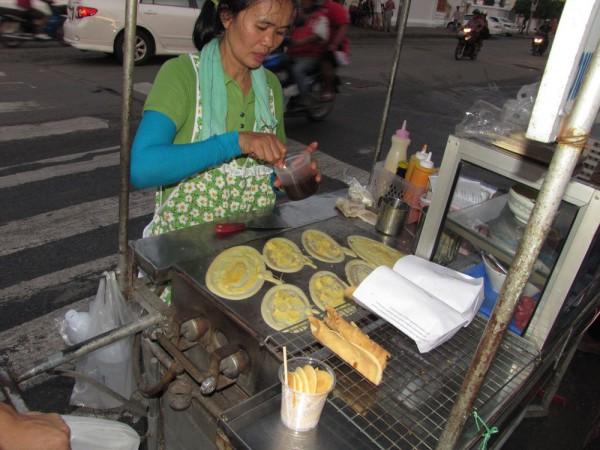 хрустящим блинчикам (кханом буанг) десерты тайской кухни