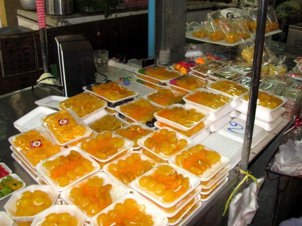 Khanom foi tong, Khanom tong yib, Tong Yord десерты тайской кухни