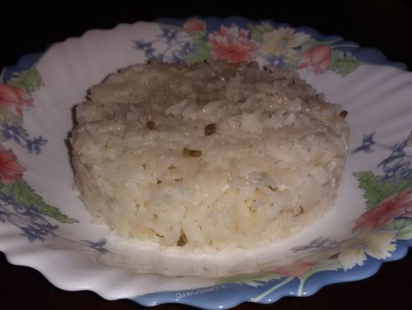 Пикантный кокосовый рис