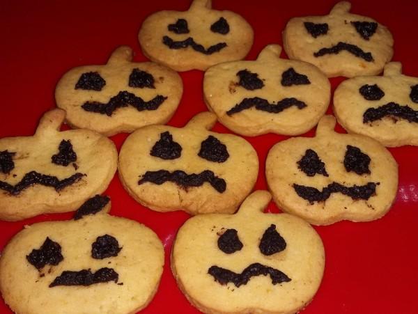 Тыквенное печенье на Хэллоуин