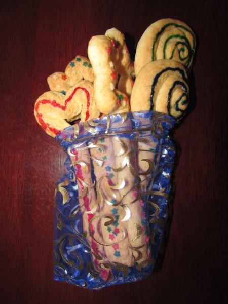 Волшебные палочки - печенье для детского праздника