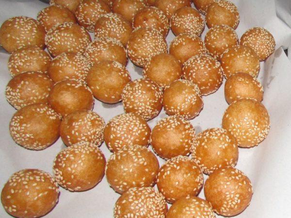 Khanom Kai Hong лебединые яйца тайские десерты thai desserts