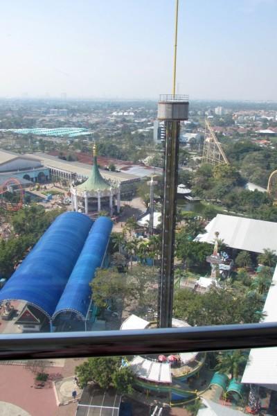Giant Drop своюодное падение сиам парк бангкок