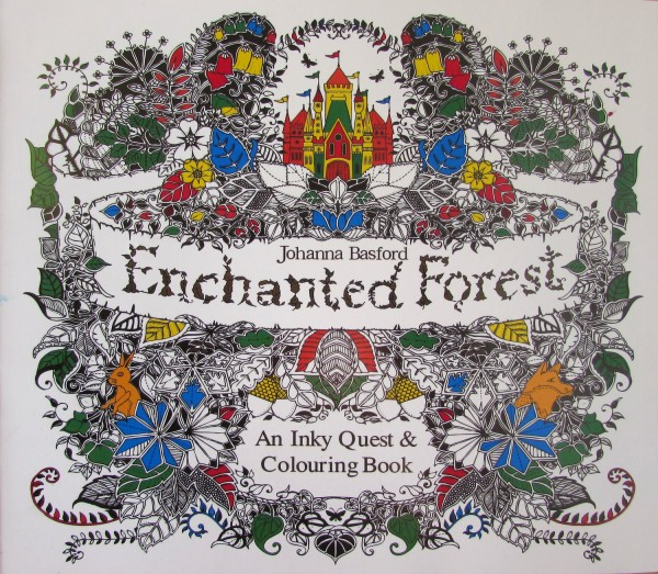 "������ ��������� ��� �������� ""������������� ���"" (Enchanted forest) �� ��������� ������� ������� (Johanna Basford)"