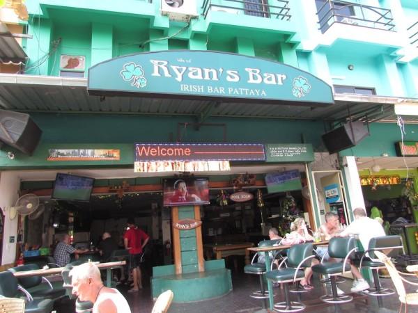 Велотур по Паттайе бар ryan's