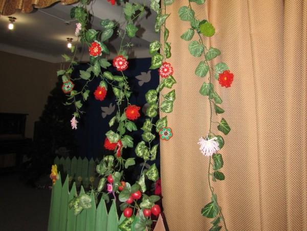 Двухцветный цветок на луме тенерифе