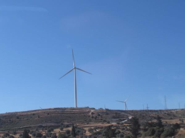экскурсия по северному кипру ветряная электростанция на кипре