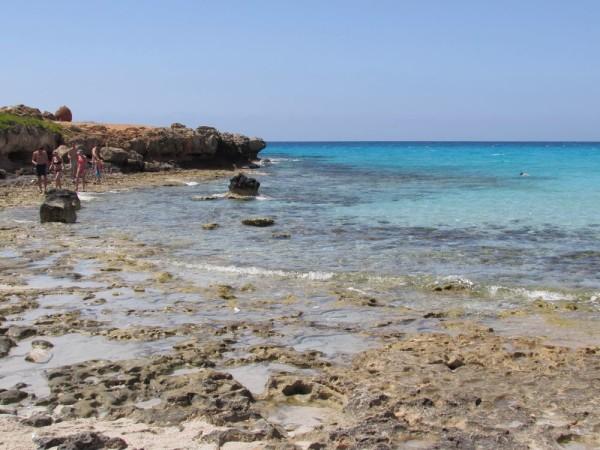 Пляж Нисси бич (Nissi beach)