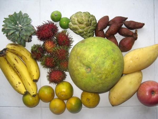 Презентация Разнообразие фруктов, 3 класс