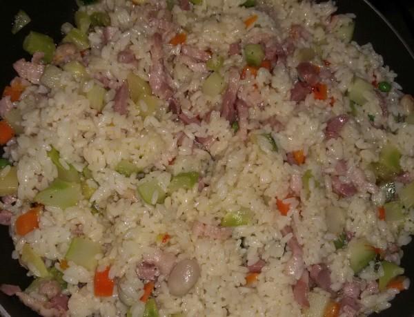 рис с панчеттой рис с грудинкой