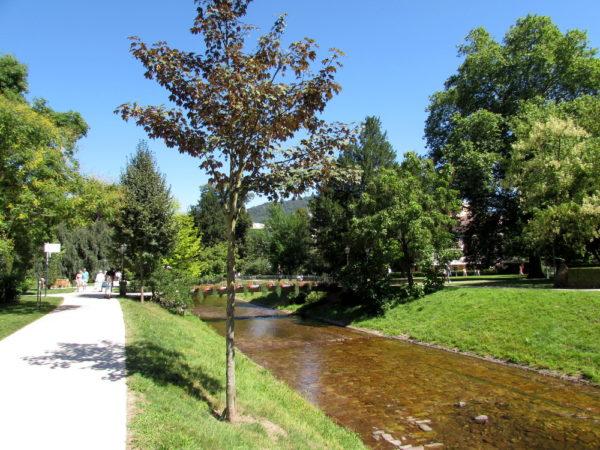 Лихтенталер аллея река оос