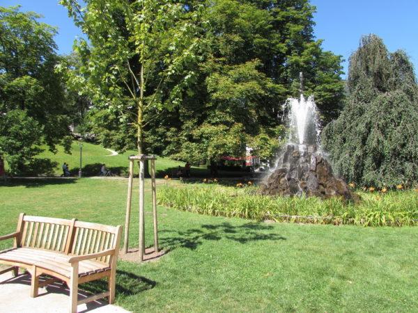 Лихтенталер аллея фонтан
