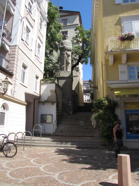 памятник Бисмарку баден баден германия
