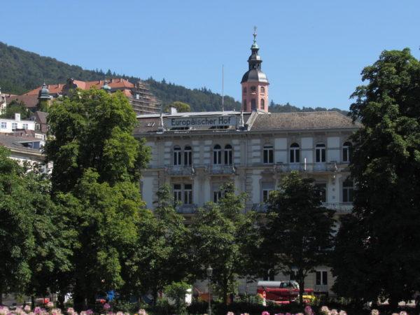 гостиница Europäischer Hof баден баден германия