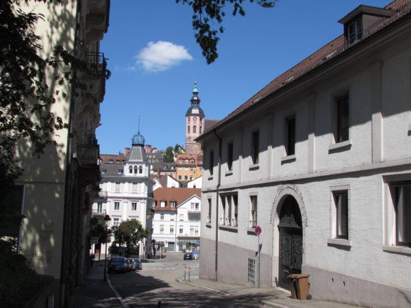 колокольня Монастырской церкви Штифтскирхе баден баден германия