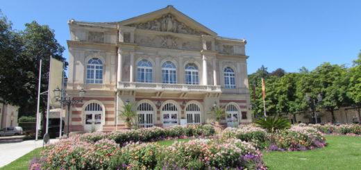 Городской театр баден баден германия