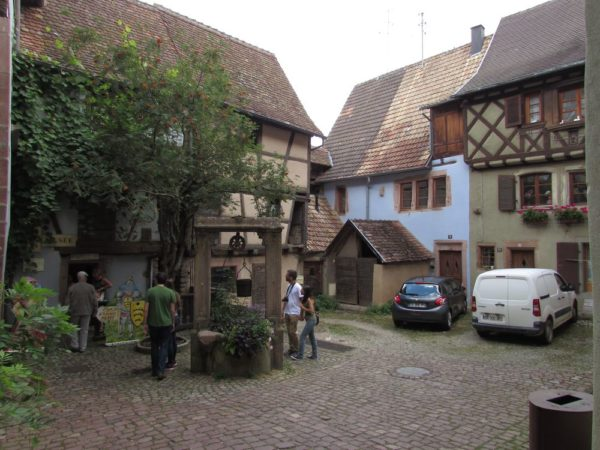 La Tour des Voleurs музей риквир riquewihr