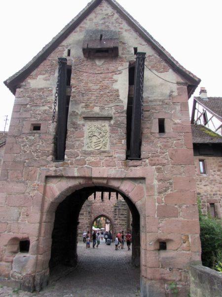 La Porte Haute верхние ворота риквир riquewihr
