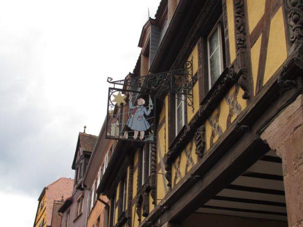 Дом гастронома «A l'etoile» риквир riquewihr