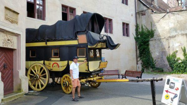 Замок герцогов Вюттембург-Монбельяр рикевир riquewihr музей почты