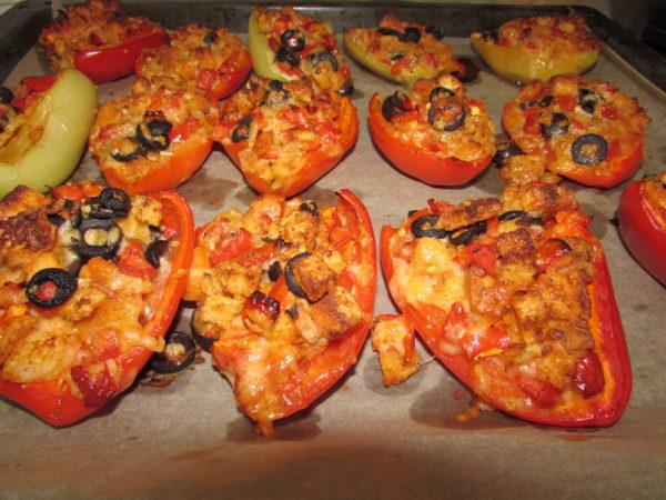 Перец фаршированный по-итальянски