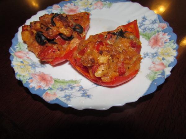 Перец фаршированный по итальянски