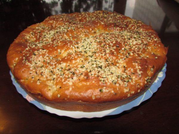 конопляные семена семена конопли рецепт Пирог с конопляными семенами