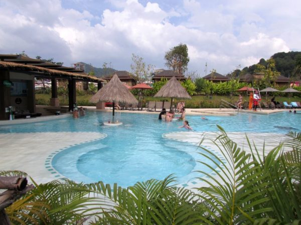 Аквапарк Рамаяна - Ramayana waterpark джакузи бассейн