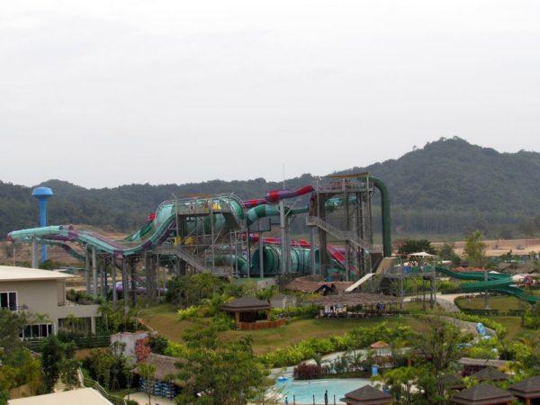 Аквапарк Рамаяна - Ramayana waterpark горки c