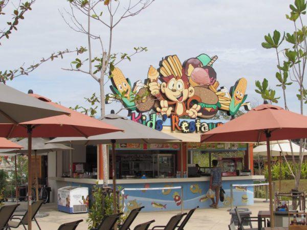 Аквапарк Рамаяна - Ramayana waterpark kids restaurant
