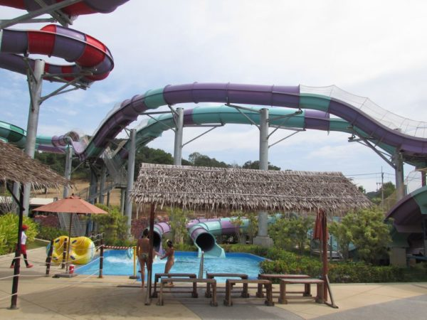 Аквапарк Рамаяна - Ramayana waterpark aqua coaster