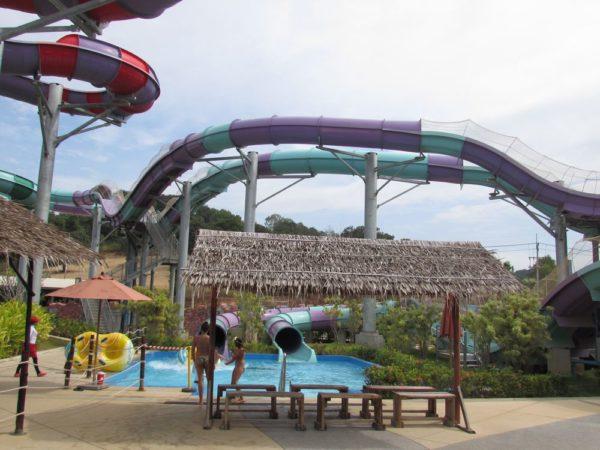 Аквапарк Рамаяна - Ramayana waterpark aqua coaster